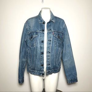 Vintage Red Tab Levi's Jean Jacket (42) 70506-0214